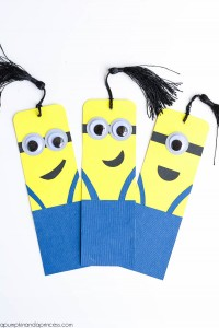 DIY-Minion-Bookmarks
